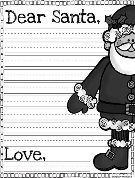 letter to santa template grade 3 dear santa letter template freebie things i want to