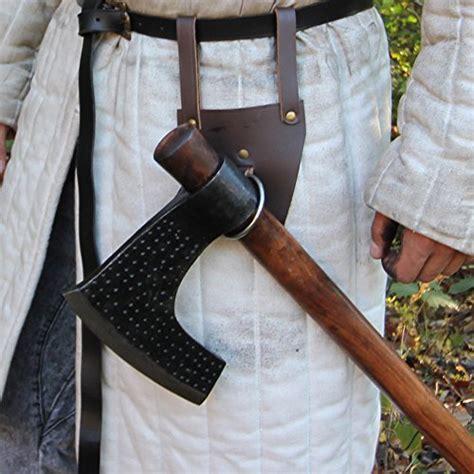 battle ready viking axe bearded head clutch axes