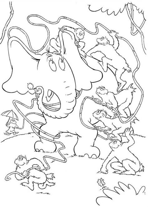 Horton Hears A Who Coloring Page Coloring Home Horton Hears A Who Coloring Page