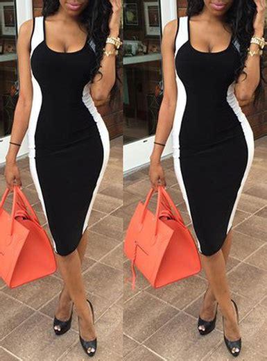 color block midi dress bodycon midi dress colorblock black and white