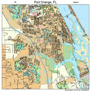 port orange florida map 1258575