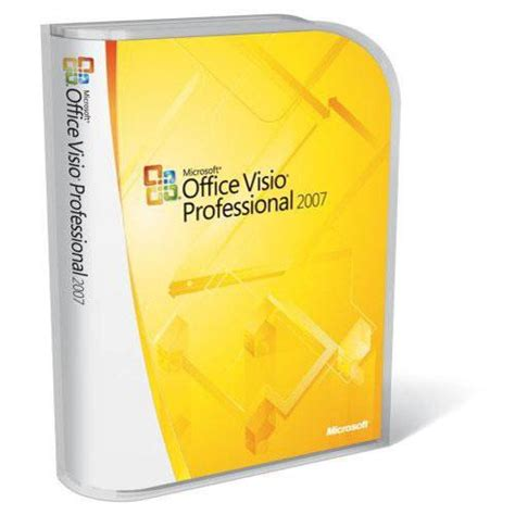 upgrade visio standard to professional microsoft visio professional 2007 software for windows d87