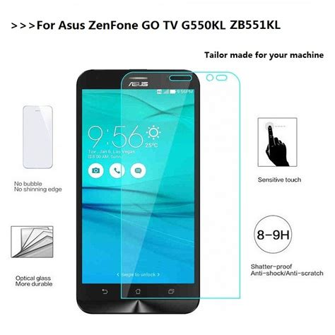 Ume Tempered Glass For Asus Zenfone Go Zb551kl 55 for asus zenfone go tv g550kl x013da 9h tempered glass for asus zenfone go zb551kl x013db screen