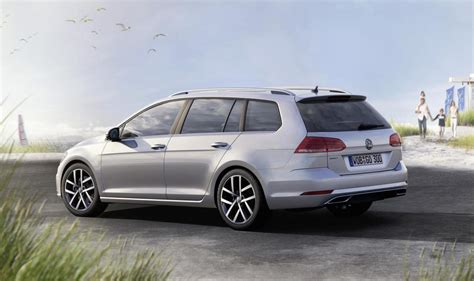 volkswagen wagon 2017 2017 volkswagen golf revealed more power for gti