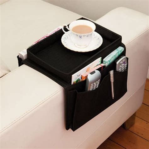 Tv Remote Holder For Sofa by Aliexpress Buy 6 Pockets Sofa Handrail Armrest