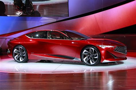 who is the maker of acura acura precision concept lets the japanese maker big