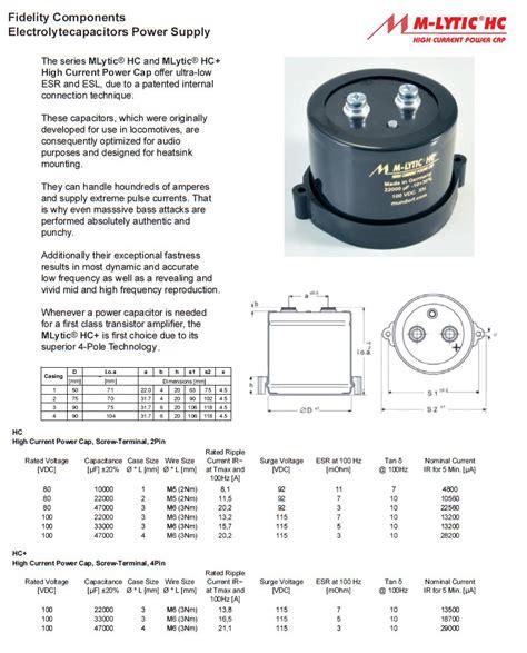 mundorf mlytic hc capacitors mundorf mlytic hc capacitors 28 images mundorf mlytic hc 47000uf 80v m lytic series mundorf