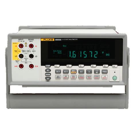 bench digital multimeter new 5 5 digit bench digital multimeter fluke 8808a