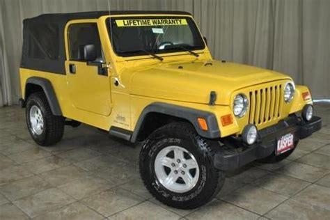 2008 Jeep Wrangler Lifetime Powertrain Warranty Buy Used 2006 Jeep Wrangler Unlimited 4x4 New Tires