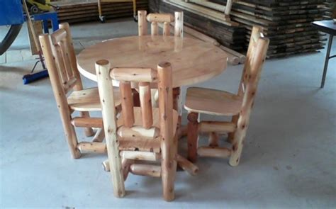 amish kitchen table and chairs amish built log living room and kitchen furniture serving