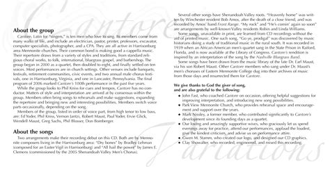 cd liner notes template word cd liner notes images frompo 1