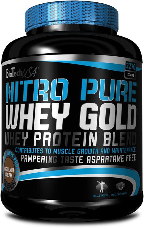 Nitro Whey Nitro Whey Gold Biotech Usa Fitbenefit Uk