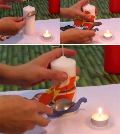 Tutorial Decoupage En Velas | diy video tutorial de decoupage velas con servilletas