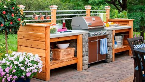 Inexpensive Outdoor Kitchen Ideas 31 Amazing Outdoor Kitchen Ideas Planted Well