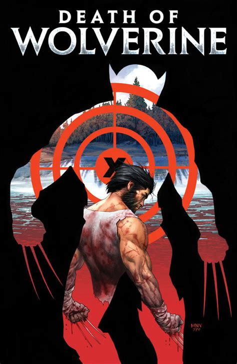 marvel reveals death of wolverine covers 2 4 featuring