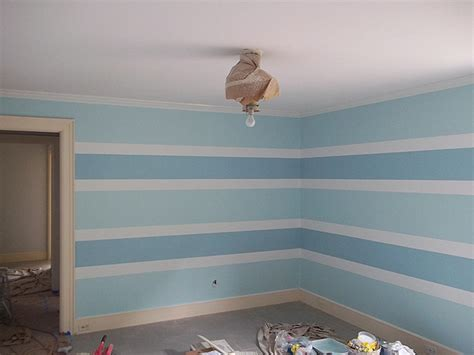 how to paint horizontal stripes on a bedroom wall painting horizontal stripe pattern on walls everything i create paint garage doors