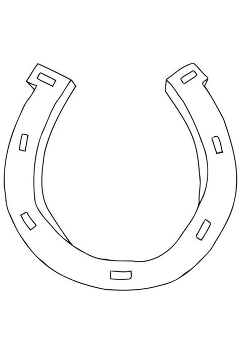 coloring page horseshoe coloring page horseshoe img 21699