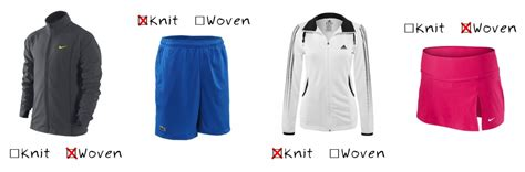 difference between knit and woven knit versus woven do you the difference tennis