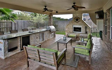 covered outdoor kitchen cost 37 outdoor kitchen ideas designs picture gallery