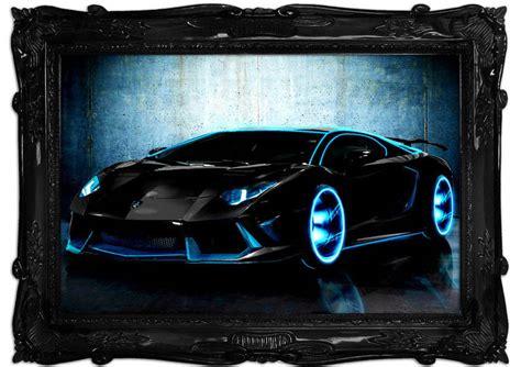 Tron Lamborghini Price by Tron Lamborghini Aventador Transport Art Mural Printed