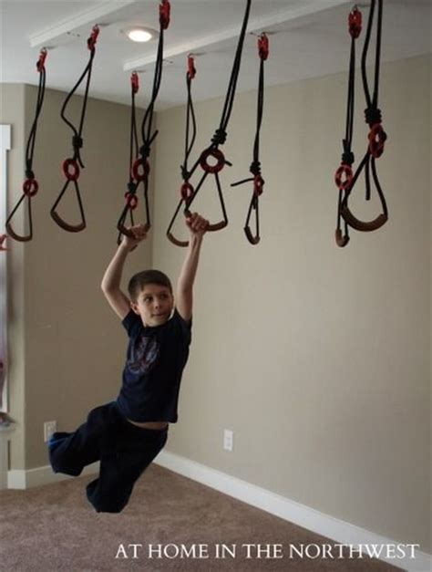 basement swing hand to hand swings great idea but not inside my house