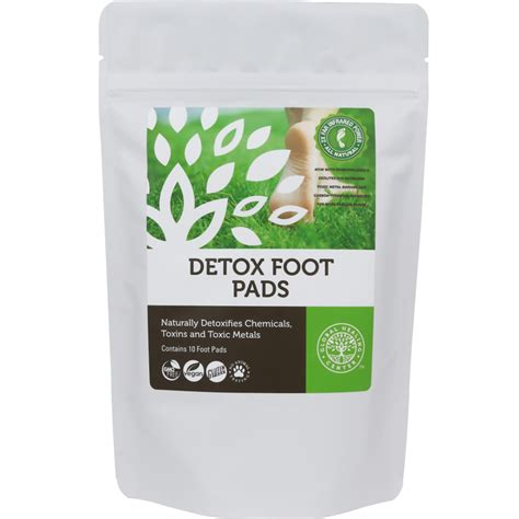 Detox Cleanse Center by Detox Foot Pads 100 Organic