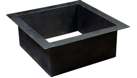 fire pit insert square outdoor goods