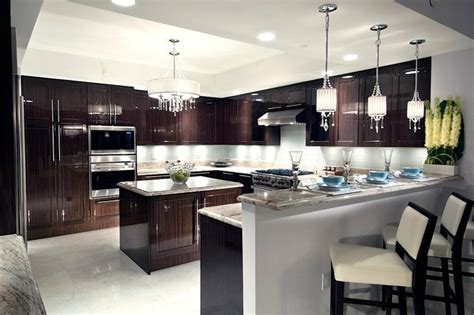 Modern Kitchen Cabinets Miami Ritz Carlton Contemporary Kitchen Miami By Britto Charette Interiors Miami Florida
