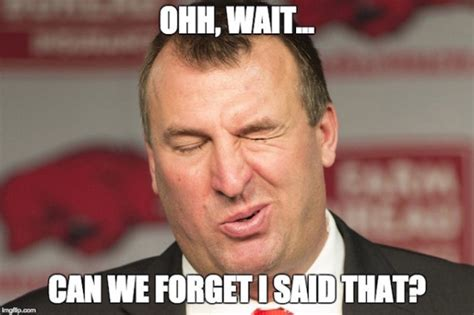 You Take That Back Meme - best arkansas football memes from the 2015 season