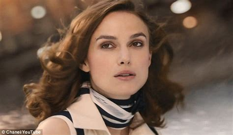 chanel commercial actress keira knightley is breathtaking in new chanel coco