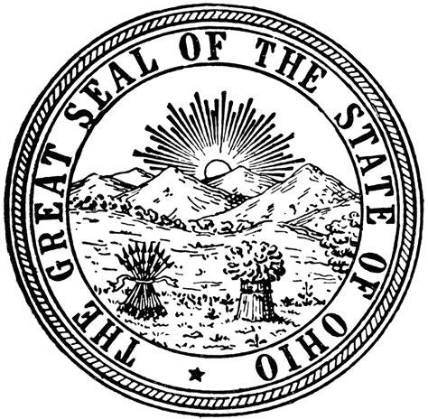 seal of ohio clipart etc