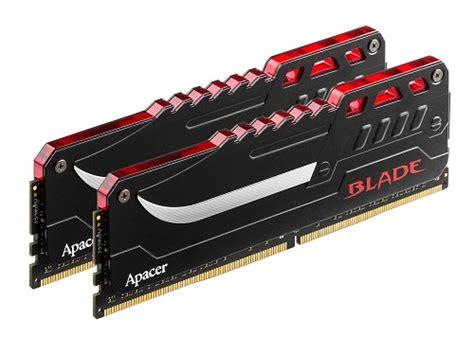 Ram Ddr4 Terbaru direct release apacer umumkan generasi terbaru memori ddr4 blade dengan led jagat review