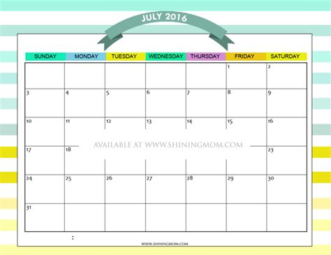 summer calendar template free printable summer calendar june 2016 calendar