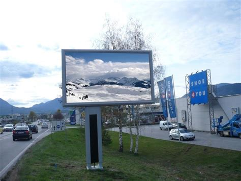 outdoor display pitch 3 91mm led screen rental moving outdoor advertising