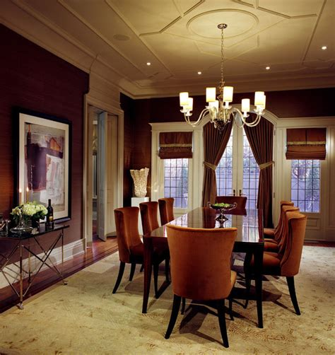 Transitional Style Dining Room by Dining Room Transitional Dining Room Toronto By