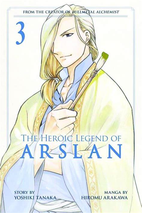 the heroic legend of arslan vol 4 fresh comics