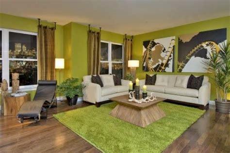 green modern living room design decor paint ideas home interior design ideas