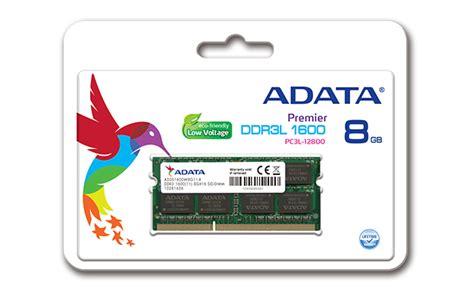 V Memory Laptopnotebook So Dimm Ddr3l Low Voltage Pc12800 8gb adata 8gb 1 35v low voltage ddr3l 1600 mhz pc3 12800 ram so dimm memory laptop ebay
