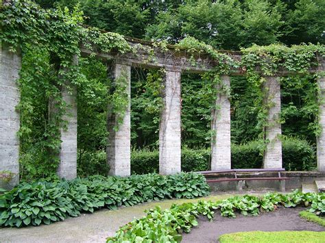 greek gardens image after photos temabina arch arches overgrown