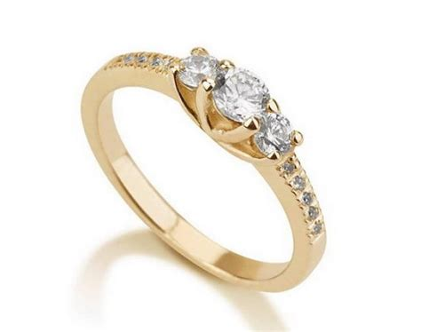 engagement promise ring gold ring couples ring wedding