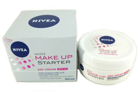 Pelembab Free review pelembab nivea white make up starter day