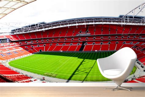football stadium wall mural mix and chic giveaway murals wallpaper worth up to 500