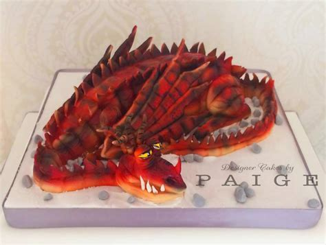 3D Dragon Cake   Designer Cakes by Paige