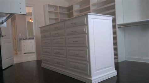 Island Dresser For Closet by Master Closet Island Dresser