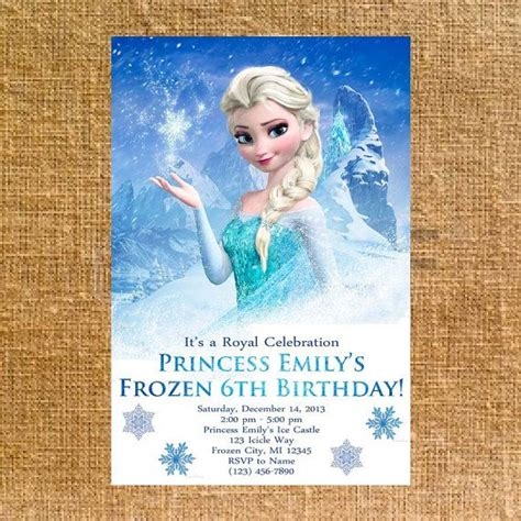 disney frozen birthday invitations 130 best images about frozen on frozen birthday invitations disney frozen and