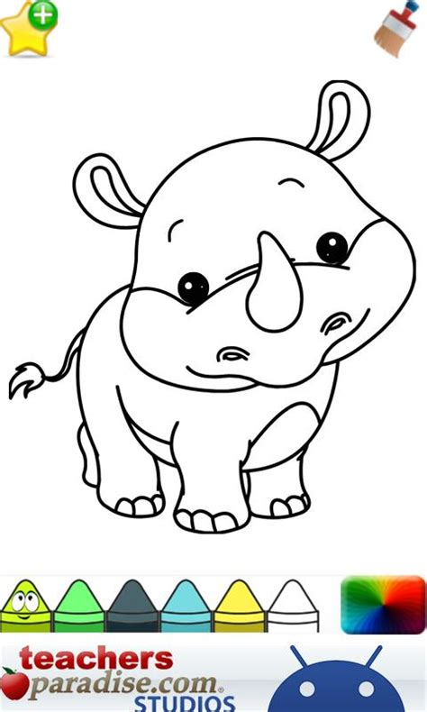 Baby Animals Coloring Book baby animals coloring book android apps on play