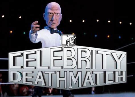 celebrity deathmatch pilot celebrity deathmatch gets mtv2 revival us tv news