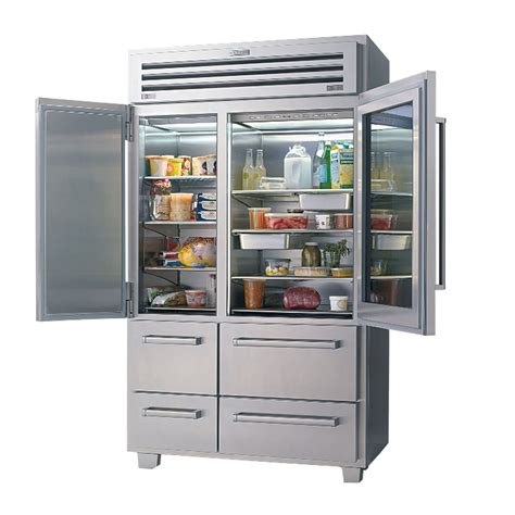 Glass Front Refrigerator For Home by Foxy Glass Door Refrigerator With Fresh Milk Side Two Bottle In The Right Door And Fresh Food