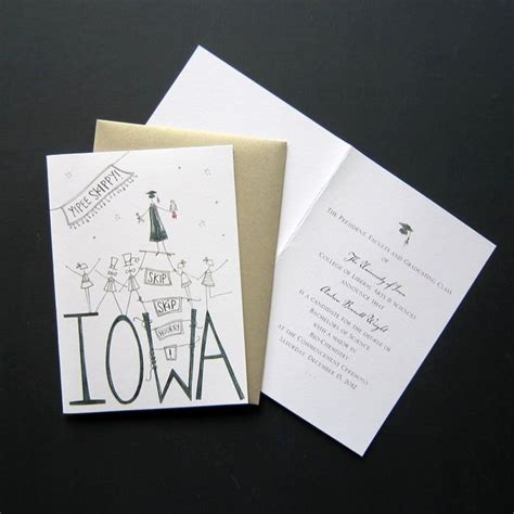 Handmade Graduation Invitations - made custom graduation announcements by loinlondon