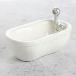 Porcelain Bathtub Miniature Porcelain Look Bathtub What S New Dollhouse